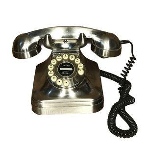 Grand Phone Pottery Barn Telephone Chrome Retro